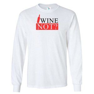Youth Kids WINE NOT T-Shirt Long Sleeve